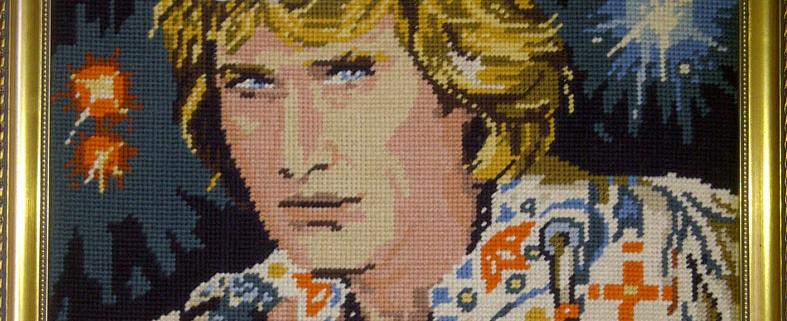 SLAG, Johny Hallyday tapestry