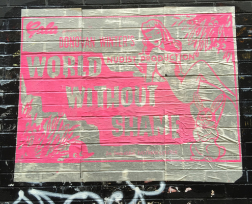 World Without Shame, Redchurch Street, 2016