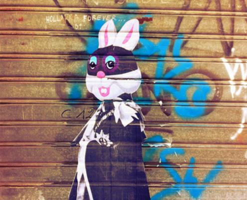 Bunny Queen. Venice, 2015