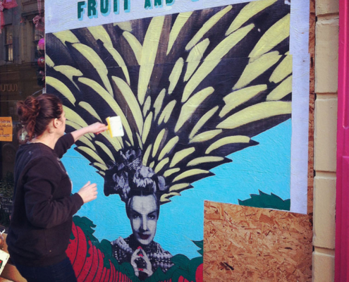Fruit and Veg shop, St Leonards on Sea, 2013