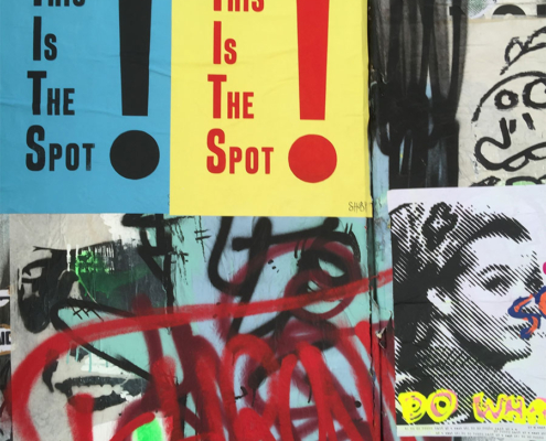 This Is The Spot, Blackall Street