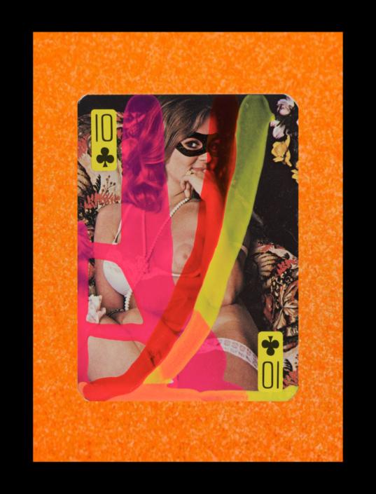 10 of Clubs Nudie Card