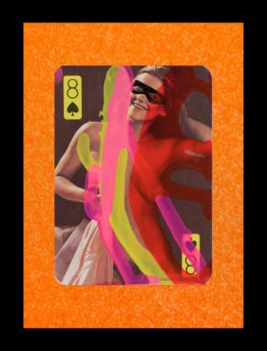 8 of Spades Nudie Card